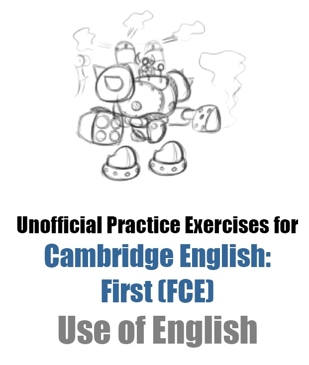 fce use of english exercises pdf